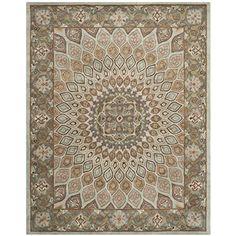 "Safavieh Heritage Collection HG914B Handmade Traditional Oriental Blue and Grey Wool Area Rug (9'6"" x 13'6"") #OrientalRugs"