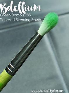 Bdellium Green Bambu 785 Tapered Blending Brush