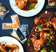 Kung Pao Chicken Wings: When nothing but a hit of salty, spicy, tangy goodness will do, this should be your go-to recipe. Chicken Wing Recipes, Bbq Chicken, Kung Pao Chicken, Fried Chicken, Chicken Wings, Wine Recipes, Asian Recipes, Cooking Recipes, Crowd Recipes
