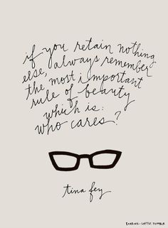 Tina Fey | Style Quotes | Fashion Quotes | Style Inspiration |  Personal Style Online | Fashion For Working Moms & Mompreneurs