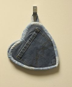 Cand.Selv: Heart potholders of jeans