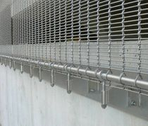 Find out all of the information about the HAVER & BOECKER OHG product: mesh cladding / stainless steel / / metal look Facade. Contact a supplier or the parent company directly to get a quote or to find out a price or your closest point of sale. Wire Mesh, Metal Mesh, External Cladding, Shop Facade, Metal Facade, Pergolas For Sale, Solar Shades, Pergola Canopy, Point Of Sale