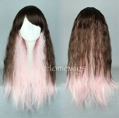 Shop our best value Pastel Wig on AliExpress. Check out more Pastel Wig items in Hair Extensions & Wigs, Synthetic None-Lace Wigs, Synthetic Lace Wigs, Synthetic Cosplay Wigs! And don't miss out on limited deals on Pastel Wig! Cosplay Hair, Cosplay Wigs, Lolita Cosplay, Brown To Pink Ombre, Wig Styles, Long Hair Styles, Pastel Wig, Synthetic Lace Wigs, Anime Wigs