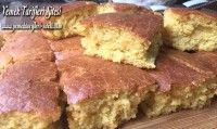 Mısır Ekmeği Cornbread, Banana Bread, Meat, Ethnic Recipes, Desserts, Food, Millet Bread, Tailgate Desserts, Deserts