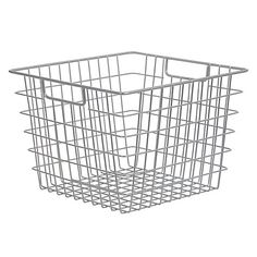 Buy John Lewis Brooklyn Iron and Steel Wire Basket Online at johnlewis.com