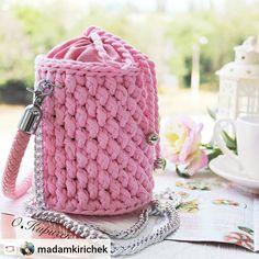 Embroidery for Beginners & Embroidery Stitches & Embroidery Patterns & Embroidery Funny & Machine Embroidery Crochet Afgans, Crochet Fox, Love Crochet, Crochet Backpack, Crochet T Shirts, Yarn Bag, Macrame Bag, Bead Embroidery Jewelry, Handmade Handbags