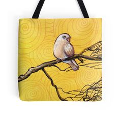 Early Bird Tote Bag $21.90 --- #Christms #StockingFillers #Gift