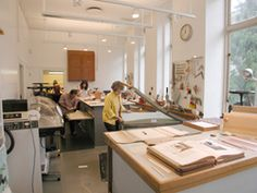 The Conservation Laboratory at the Frick Art Reference Library