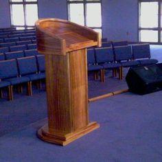 custom church pulpit plans - Google Search