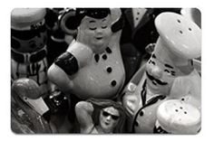 Ina's Kitchen, Chicago, IL. Has Salt & Pepper Shaker collection