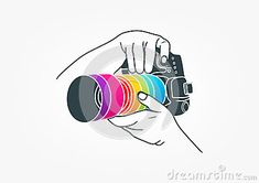 Illustration about An illustration represent photography logo, camera concept design isolated in grey background. Illustration of aperture, design, abstract - 70433891 Photography Name Logo, Photography Movies, Photography Studio Background, Studio Background Images, Light Background Images, Logo Background, Photographer Tattoo, Background Wallpaper For Photoshop, Camera Logo