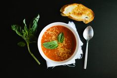 Trio of Soups for Winter that I'd like to try....especially the tomato soup