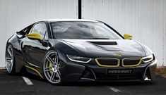 Manhart Racing gives the plug-in hybrid BMW i8 some extra oomph