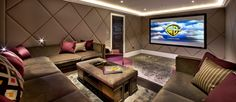 cinema seating for home - Google Search