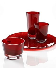VILLEROY  BOCH #drinkware #glass #red BUY NOW!