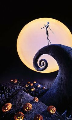 Nightmare Before Christmas Phone Decal