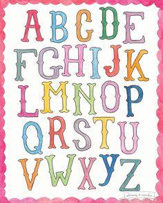 Alphabet - Sarah Frances