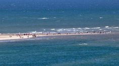 """Skagen at """"Grenen"""" the very top of Denmark! See the two seas meet"""