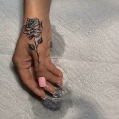 hand tattoos for women side rose - hand tattoos for women side Rose Tattoos For Women, Tattoo Women, Tattoos For Women Small, Small Tattoos, Unique Tattoos With Meaning, Pretty Tattoos For Women, Black Girls With Tattoos, Chest Tattoos For Women, Hip Tattoos Women