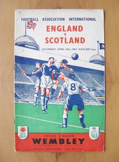 #England v #scotland 1953 *vg #condition football programme*,  View more on the LINK: 	http://www.zeppy.io/product/gb/2/371842229999/