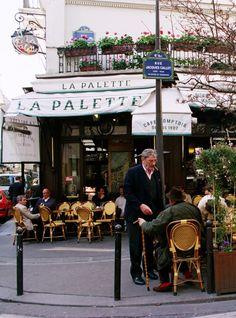 Café La Palette, 43 Rue de Seine, Paris VI