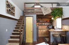 Add a loft over your kitchen.