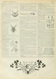 Wings of Whimsy: Noveau Larousse Illustré - C #vintage #french #dictionary…