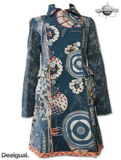 Desigual blue coat