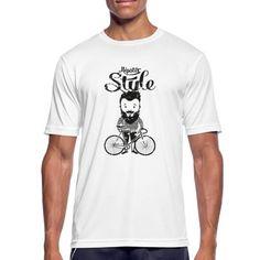 RAD, HIPSTER, T-SHIRT, MOUNTAINBIKE, GESCHENKIDEE - Männer T-Shirt atmungsaktiv