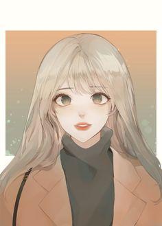how to draw comics Pretty Anime Girl, Beautiful Anime Girl, Kawaii Anime Girl, Anime Art Girl, Manga Art, Anime Girls, Cute Manga Girl, Cartoon Kunst, Cartoon Art