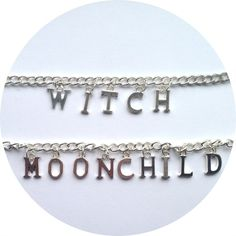 Image of Spell it out - chain chokers