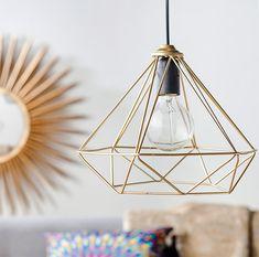 claves estilo mid century lámpara geométrica Homy