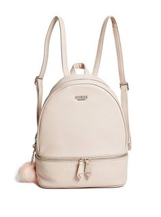 Buena Backpack at Guess Mini Mochila, Mochila Kanken, Cute Mini Backpacks, Little Backpacks, Girl Backpacks, Cute Leather Backpacks, Guess Backpack, Small Backpack, Backpack Bags