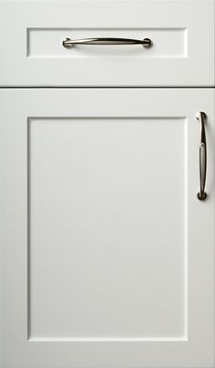 Snow White Cabinet Door Shaker Style Doors Kitchen Cabinets