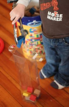 Block Activity for Fine Motor Skills