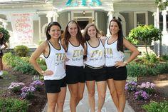 Zeta Tau Alpha at East Carolina University #ZetaTauAlpha #ZTA #Zeta #BidDay #sorority #ECU