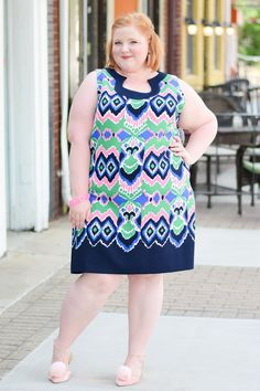 Retro Whimsy Look Book with Liz Louize Boutique: fashion should be fun and fashion should be fantasy, and this new boutique in Royal Oak, MI embodies that! Big Size Dress, Plus Size Dresses, Cute Dresses, Plus Size Outfits, Casual Dresses, Fat Girl Fashion, Retro Fashion, Plus Size Fashion For Women, Plus Fashion