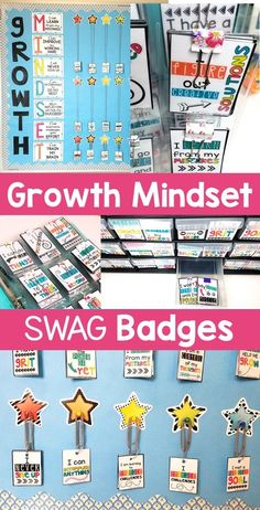 Growth Mindset Swag Badges - Recognize and reward your upper elementary 2nd, 3rd, 4th, and 5th grade students. You get 55 different swag badges for your classroom. Manage your students and reinforce positive behavior in a fun way. Increase student engagement and motivation. It's a classroom incentive system that won't require you to constantly be buying prices or candy. (second, third, fourth, fifth graders) #2ndGrade #3rdGrade #4thGrade #5thGrade Classroom Organization, Classroom Management, Classroom Ideas, Classroom Incentives, 5th Grade Classroom, Positive Behavior, Student Engagement, Upper Elementary, 5th Grades