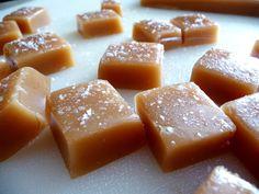 Salted Caramels with Orange Scented Sugar