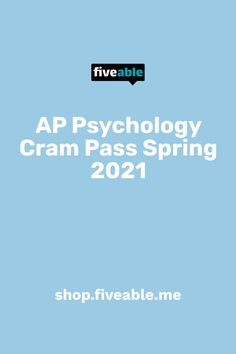 Get the AP Psychology Cram Pass to unlock your ticket to every single Fiveable AP Psychology Cram Session happening this spring, including the 5-hour Cram Finale! Review every unit and question type, rewatch your sessions, and build your AP confidence. Why just cram when you can pass? Ap Psychology, College Board, When You Can, Ticket, Confidence, Study, The Unit, Shit Happens, Education