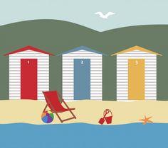 Beach Holiday  #public domain image