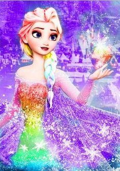 DIY Diamond Painting - Elsa from Frozen 3 Disney Princess Frozen, Disney Princess Drawings, Disney Princess Pictures, Princess Cartoon, Elsa Frozen, Cute Disney, Disney Girls, Disney Art, Walt Disney