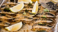 Sicilian stuffed sardines (sarde a beccafico) recipe : SBS Food Seafood Menu, Fish And Seafood, Seafood Recipes, Ocean Food, Sardine Recipes, Sicilian Recipes, Sicilian Food, Sbs Food, Just Cooking