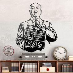Alfred Hitchcock - VINILOS DECORATIVOS