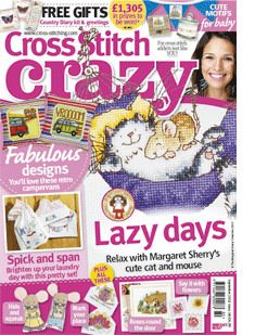 Cross Stitch Crazy issue 180, September 2013 – click here to buy a copy http://secure3.subscribeonline.co.uk/origin/products.sol?mag=CSCZ or visit your app store to download it to your tablet or smartphone!