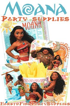 Find all of our licensed Moana supplies at HardtoFindPartySupplies.com!