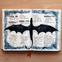 The incredible popularity of Game of Thrones has inspired bullet journalers everywhere. Here is a massive list of Game of Thrones bullet journal layouts. January Bullet Journal, Bullet Journal Notebook, Bullet Journal Spread, Bullet Journal Layout, Bullet Journal Inspiration, Game Of Thrones, Journal Aesthetic, Wreck This Journal, Journal Pages