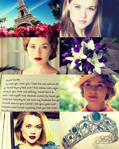 """(The Next Generation - Princess of Camille of France) """"She was a willowy thing, blond and petite, with a face that looked eternally well rested and excited. In person and in print, I'd never seen her wearing anything that remotely resembled a frown..."""""""