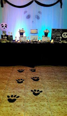 Fiesta tematica oso panda decoración de @ideasdiskretas