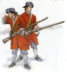 British; Enniskillen Dragoons at the battle of the Boyne, 1690, during the Williamite War in Ireland. The regiment was first raised from among the Protestants of the town of Enniskillen to defend it from Jacobite attacks. It went on to become one of the British Army's most famous cavalry regiments
